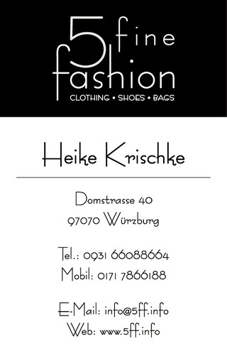 Logo 5 fine fashion